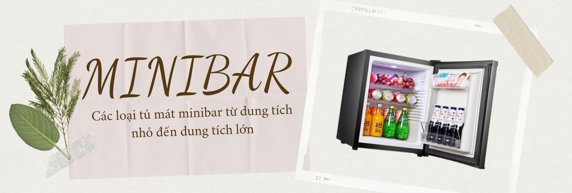 Tủ mát khách sạn - Tủ Minibar Homesun - Tủ lạnh khách sạn