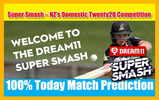 Who will win Today Super Smash T20, 8th Match NK vs CD - Cricfrog