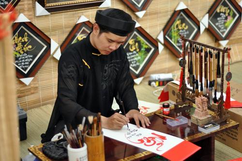 học thư pháp Việt