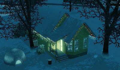 Sims 3, vivienda en la nieve