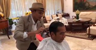 Sambut Lebaran, Jokowi Posting Video Potong Rambut di Akun Instagram