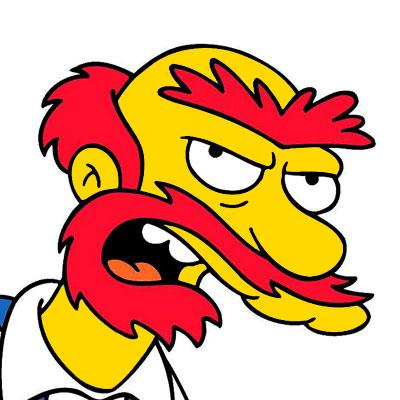 Los Simpson Personaje Encargado de mantenimiento Willie