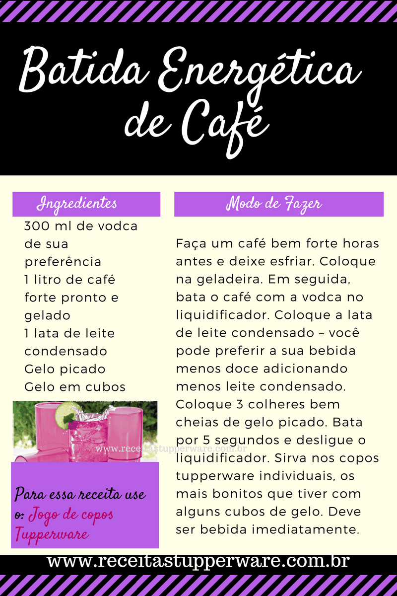 Receita de Batida de Café