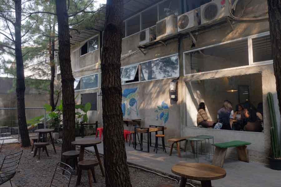 tempat nongkrong asik di Janjian Coffee Roaster bogor