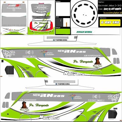 shd livery haryanto hijau putih