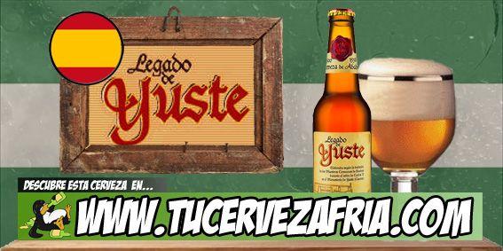 Cerveza LEGADO DE YUSTE