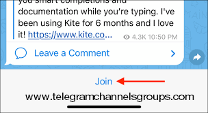 How to join Telegram Channels