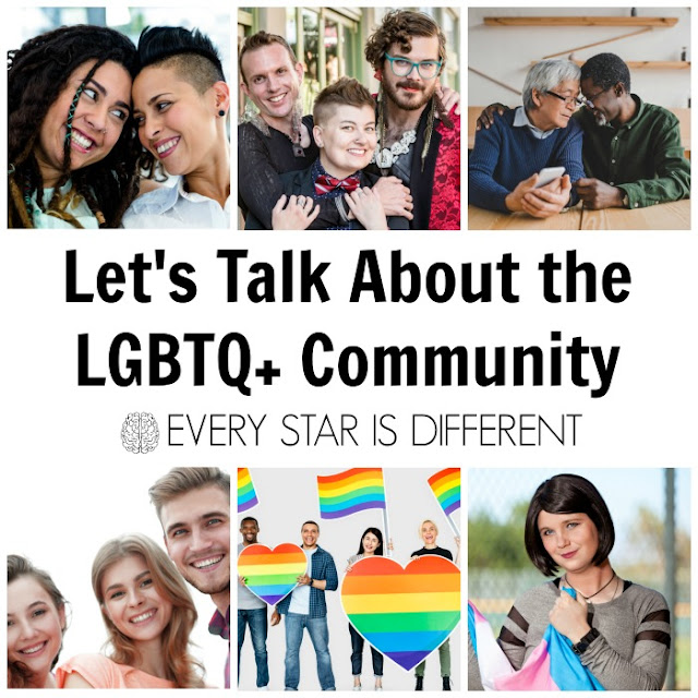 Let's Talk About the LGBTQ+ Community included in the Diversity and Inclusion Bundle