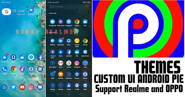 Download Themes Custom Android Pie UI for OPPO dan Realme - Sobat Realme