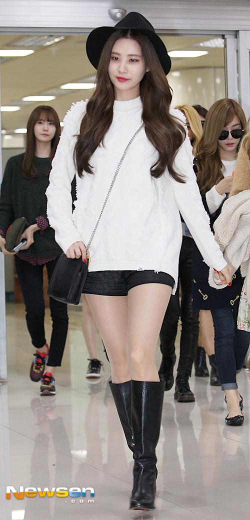 SNSD Seohyun Airport Fashion - Official Korean Fashion