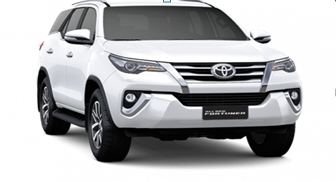Toyota All New Fortuner Super White
