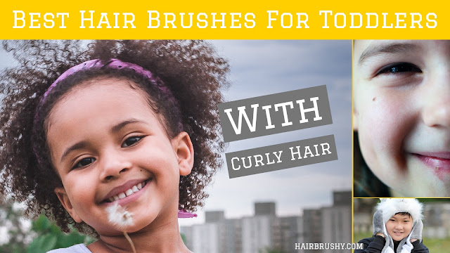 Hair brushes for children's hair