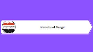 Nawabs of Bengal