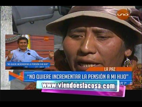 EX ESPOSA DE EUGENIO ROJAS DICE QUE EL MINISTRO SE NIEGA A SUBIRLE PENSIONES A SU HIJO