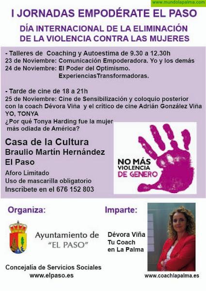 I Jornadas 'Empodérate El Paso', en el marco del Día Internacional de la Eliminación de la Violencia contra la Mujer
