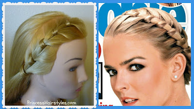 Nicole Brown Simpson Braid Tutorial