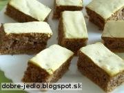Orechový koláč s minerálkou - recept
