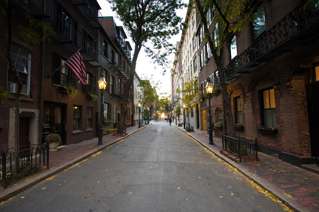 Beacon hill-Boston
