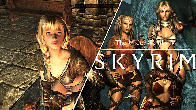 SKYRIM w/ Lovely Followers! Sheogorath, Shrine of Talos & Lost Helmet!