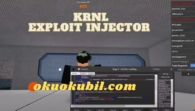 Roblox KRNL Exploit Injector İndir Aralık 2020