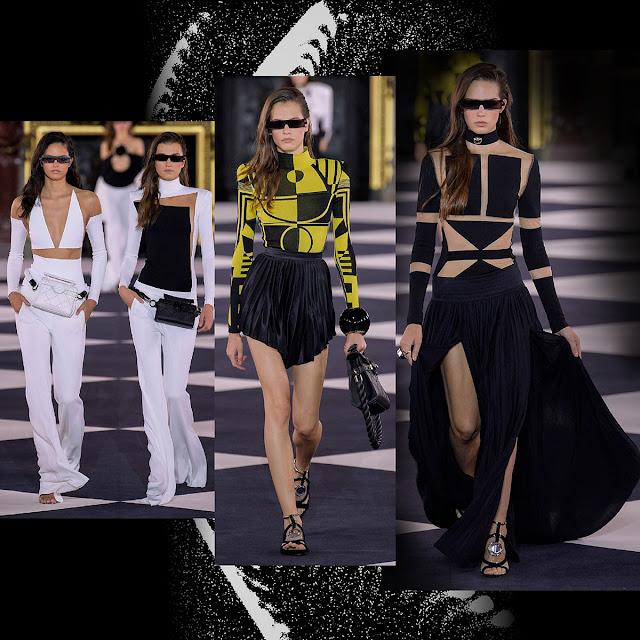 Balmain Spring Summer 2020 Paris Fashion Week by RUNWAY MAGAZINE