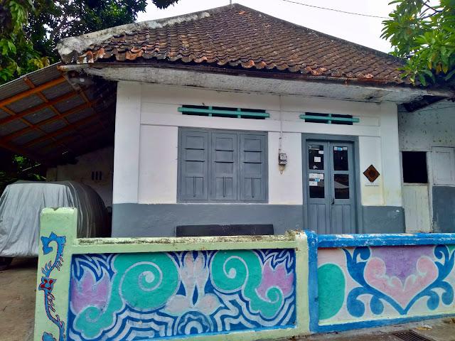 Rumah gaya kolonial di Kawitan