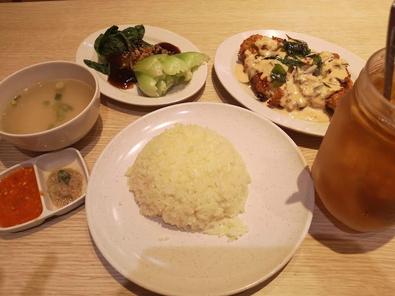 Makan Grilled Butter Chicken di The Chicken Rice Shop Berdua dengan Adhwa