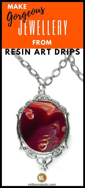 Resin Art Jewellery inspiration sheet