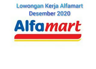 Lowongan Kerja Alfamart Bali Desember 2020