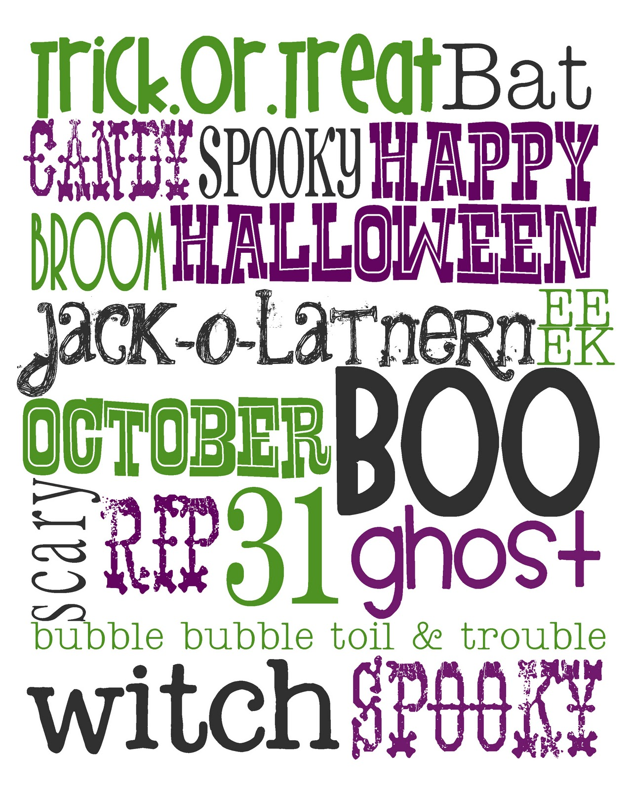 Lovely Little Snippets Happy October Free Halloween