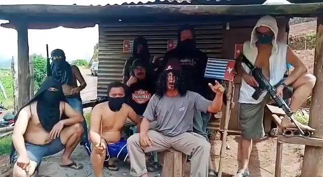 """OPM Tantang TNI Perang Terbuka, """"Kalian Tentara Penakut Silahkan Pulang"""""""