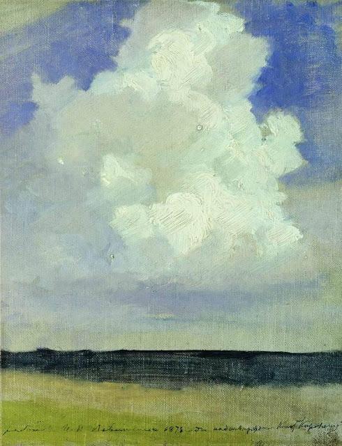Исаак Ильич Левитан - Облако. 1878