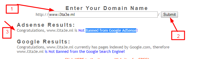 Banned from Google AdSense