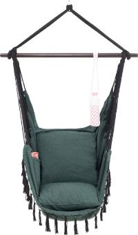 Vita hangstoel zonder frame