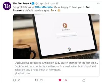 DuckDuckGo surpasses 100 million daily search queries