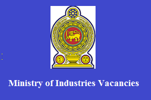 Ministry of Industries Vacancies