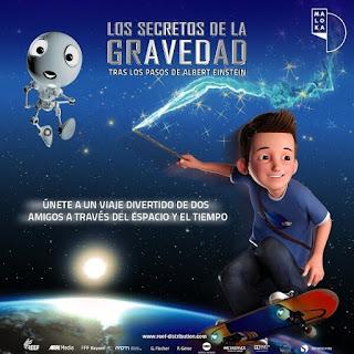 Los secretos de la gravedad | MALOKA Domo 2D y 3D