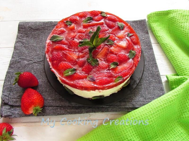 Чийзкейк с ягоди и Бейлис * Cheesecake al Baileys e fragole