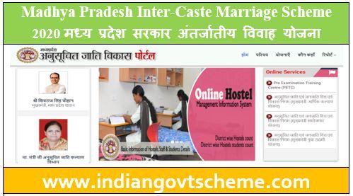 Madhya Pradesh Inter-Caste Marriage Scheme