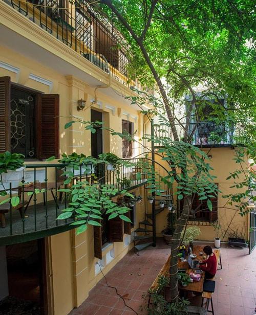 5 homestay xinh xắn như quán cà phê ở Hà Nội - Ảnh 10