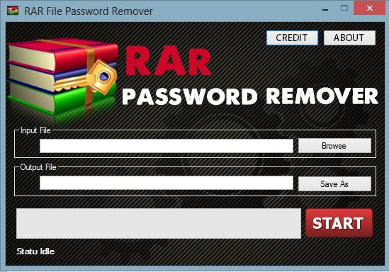 rar zip password remover