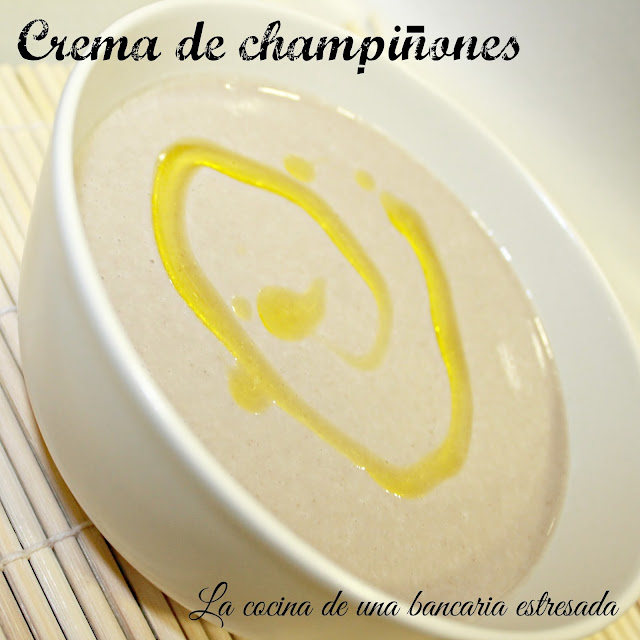 Receta de crema de champiñones thermomix y tradicional