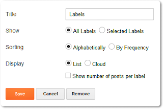How To Add Brick/Box Style Tags Cloud in Blogger Using CSS