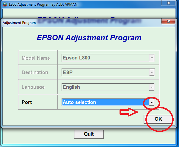 epson l800 service required software free download