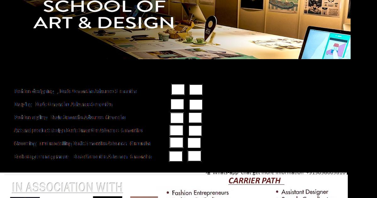 Fashion Design Certificate Course Online