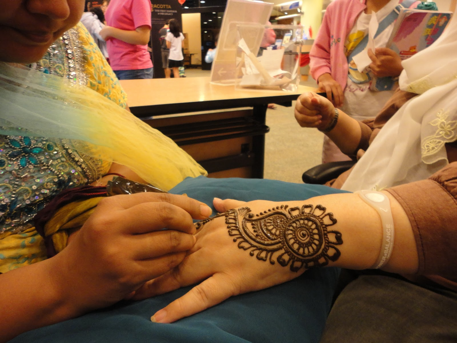 Samarpan Arts Henna For Hari Raya 2016 From Expert