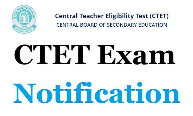 CTET notification 2021-2022, apply online last date at ctet.nic.in
