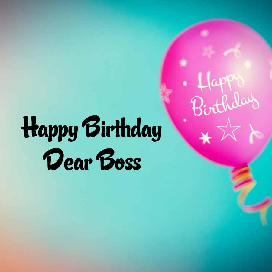 happy birthday boss pic