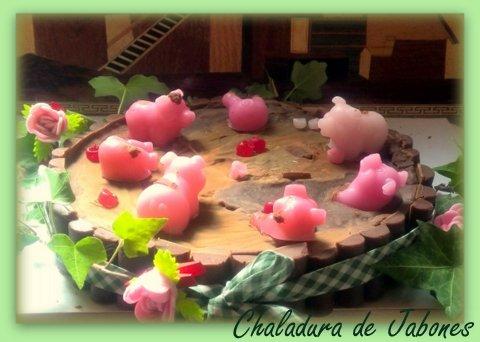 Tarta de chocolate Chaladura de Jabones