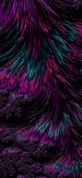 خلفية تموجات تجريدية من الخيوط البنفسجية الداكنة